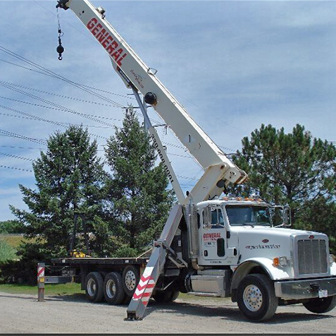 boom-trucks-rental from General Crane Rental, LLC