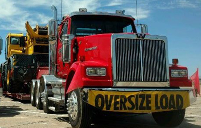 Heavy Hauling rental available from General Crane Rental, LLC