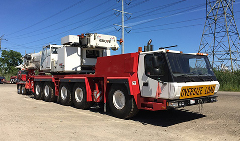 crane rental available from General Crane Rental. LLC