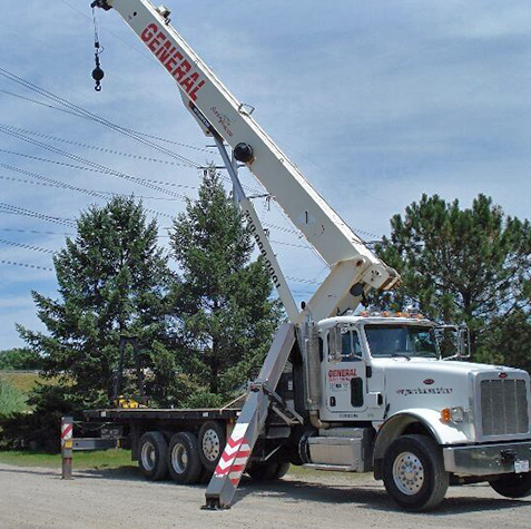Expert Equipment Rental available from General Crane Rental, LLC