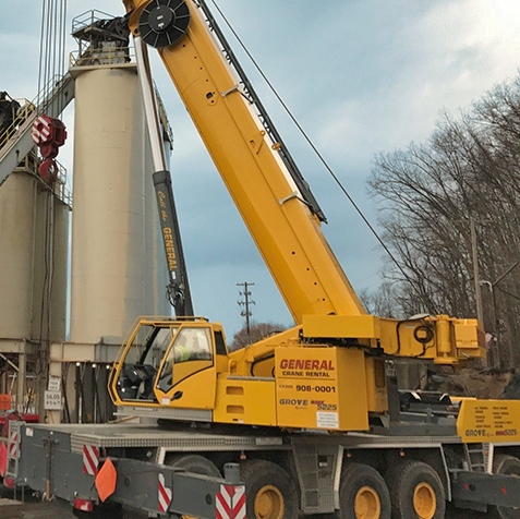 all terrain crane rental from General Crane Rental, LLC