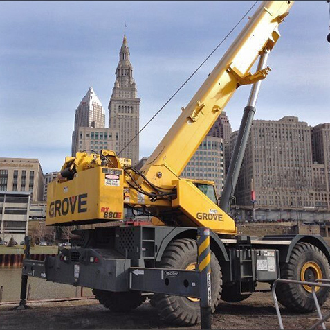 crane rentals available from General Crane Rental, LLC